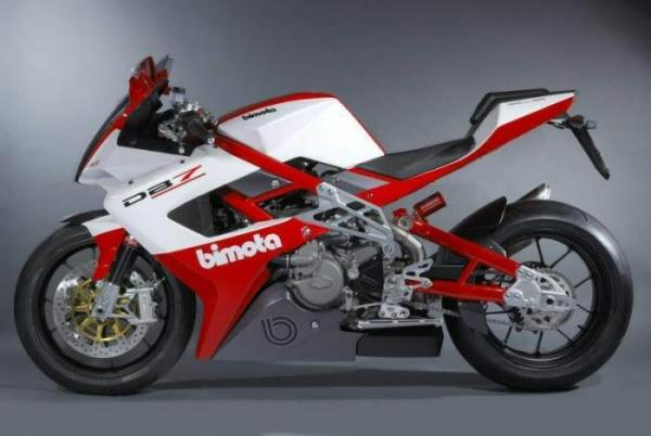The highly controlled ride on Bimota DB7