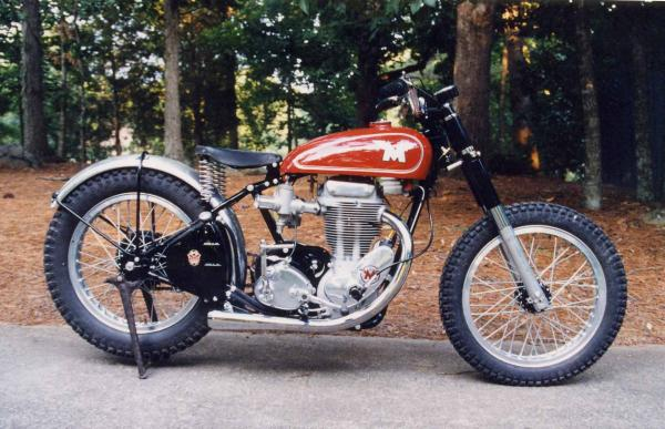 The Matchless G 80 E one of the vintage bikes from the late 80s