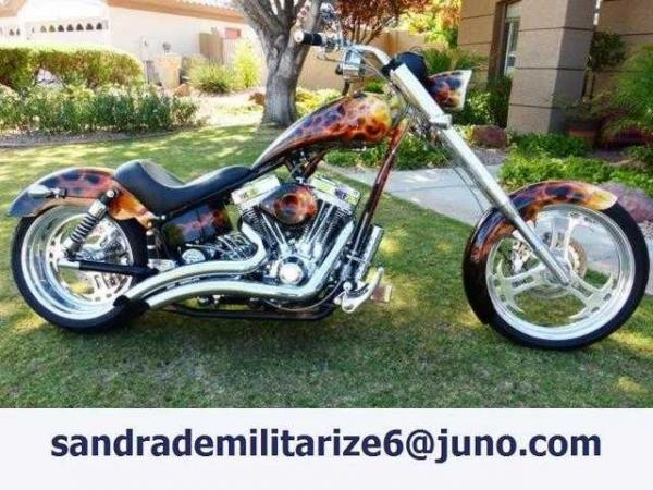 2006 Titan Sidewinder Rubber Mount Chopper