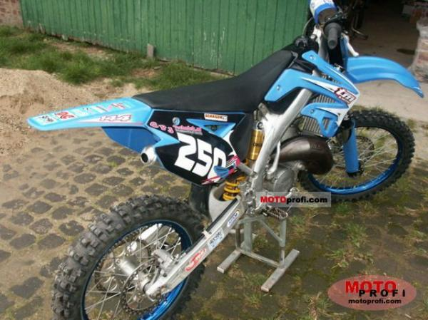 2008 TM racing MX 125