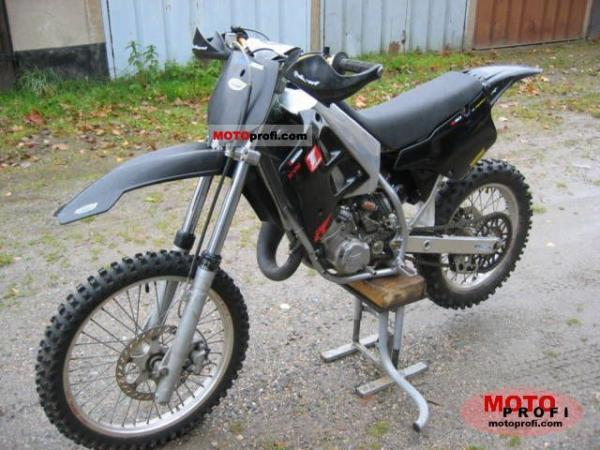 2004 TM racing MX 125 Cross