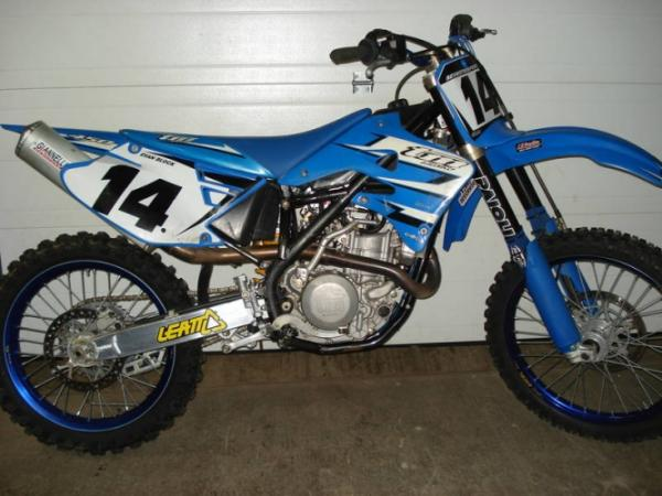 2006 TM racing MX 450 F