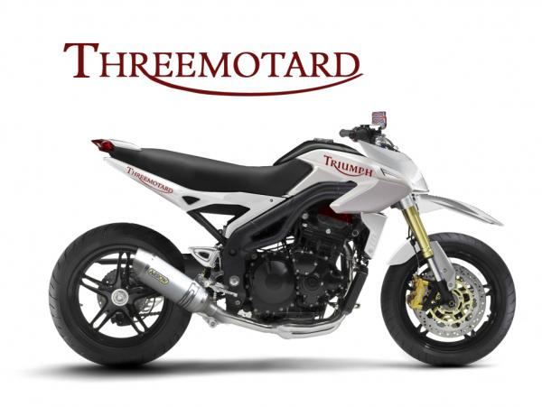 Triumph Super motard #1