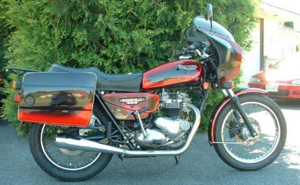 1982 Triumph T 140 E Bonneville Executive