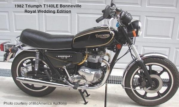 1983 Triumph T 140 E Bonneville Executive