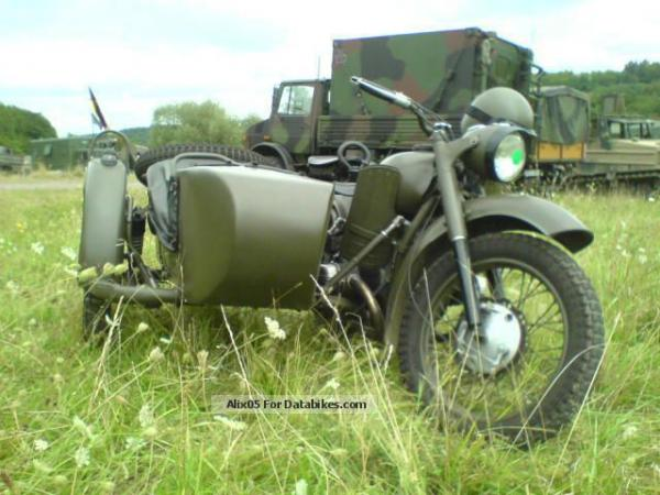 Ural M-63 (with sidecar)