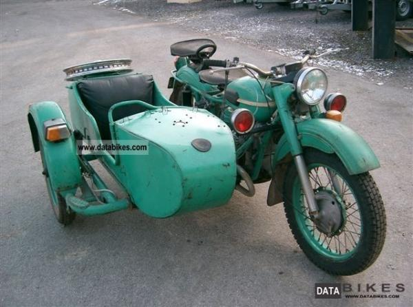 1980 Ural M-63 (with sidecar)