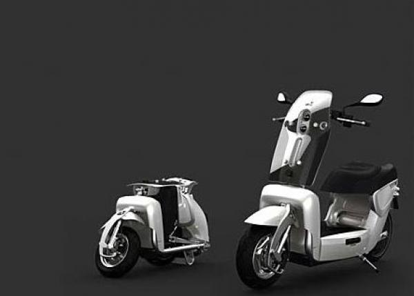 XOR XO2 125: you have never met such a compact scooter before!