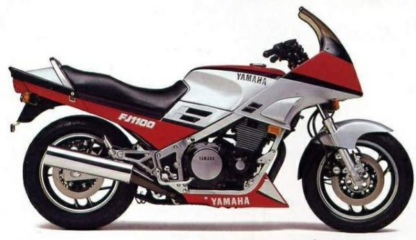 Yamaha FJ 1100 (reduced effect)