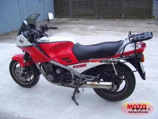 1984 Yamaha FJ 1100 (reduced effect)