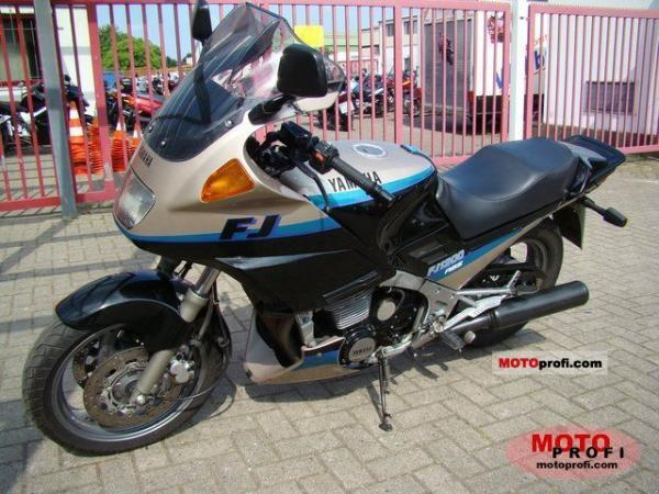 1992 Yamaha FJ 1200 (reduced effect)