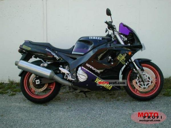 Yamaha FZR 1000 Genesis (reduced effect)
