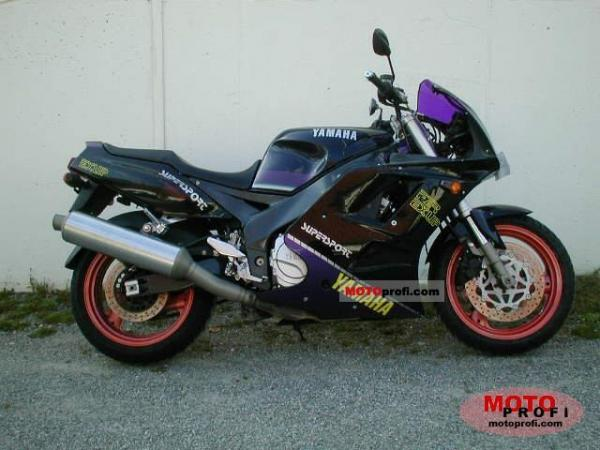 1992 Yamaha FZR 600 (reduced effect)