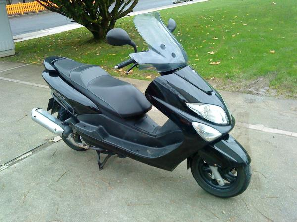 2007 Yamaha Majesty 125