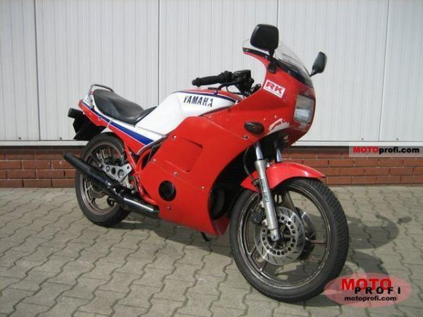 1987 Yamaha RD 350 (reduced effect)