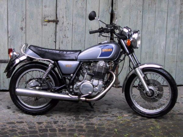 Yamaha SR 500 G (cast wheels) 1980 #1