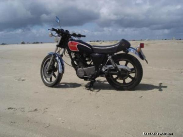 Yamaha SR 500 S (spoked wheels)