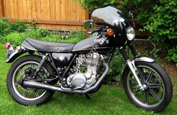 1980 Yamaha SR 500 S (spoked wheels)