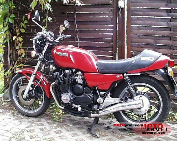 1983 Yamaha XJ 650 (reduced effect)