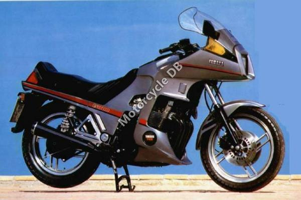 1984 Yamaha XJ 650 (reduced effect)