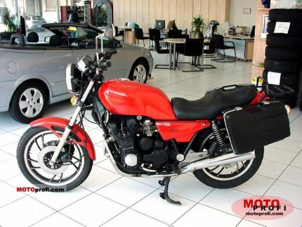 Yamaha XJ 650 (reduced effect)
