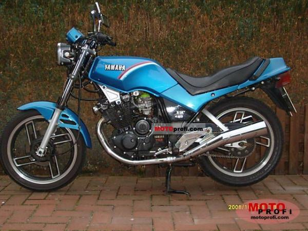 1983 Yamaha XS 400 DOHC (reduced effect)