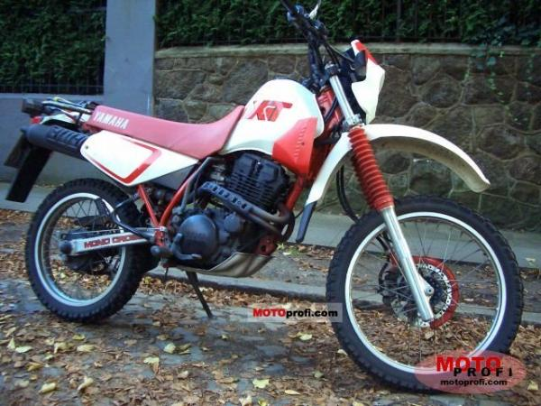 1990 Yamaha XT 350 (reduced effect)