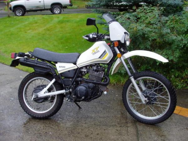 1983 Yamaha XT 550 (reduced effect)