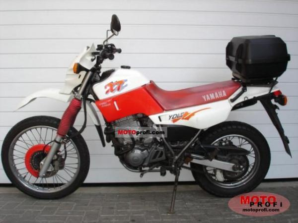 Yamaha XT 600 E (reduced effect)