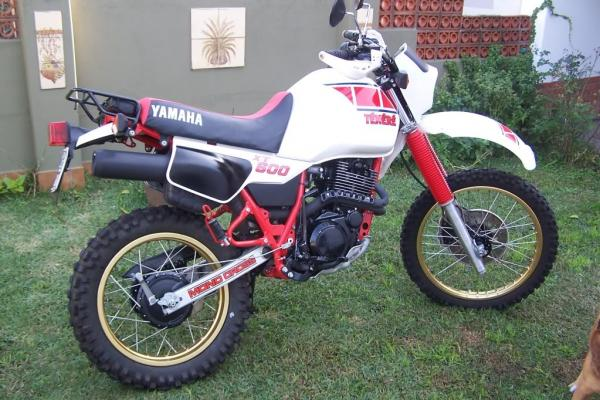 1992 Yamaha XT 600 E (reduced effect)