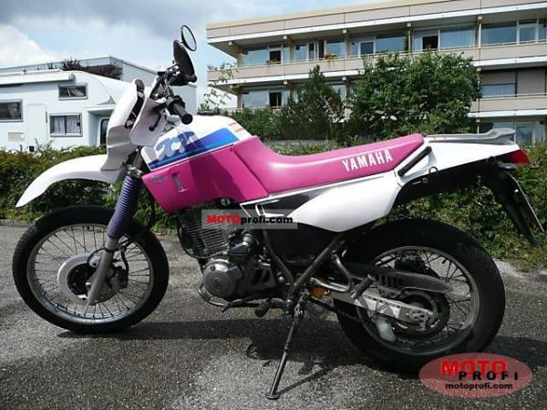 Yamaha XT 600 K (reduced effect)