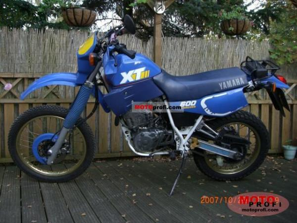 1990 Yamaha XT 600 K (reduced effect)