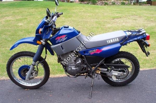 1985 Yamaha XT 600 (reduced effect)
