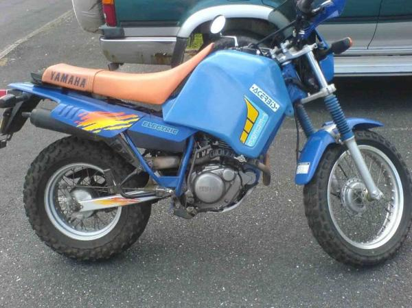 1986 Yamaha XT 600 (reduced effect)