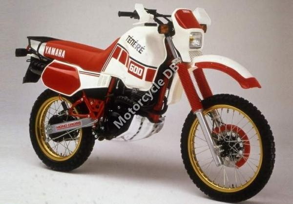 1987 Yamaha XT 600 (reduced effect)