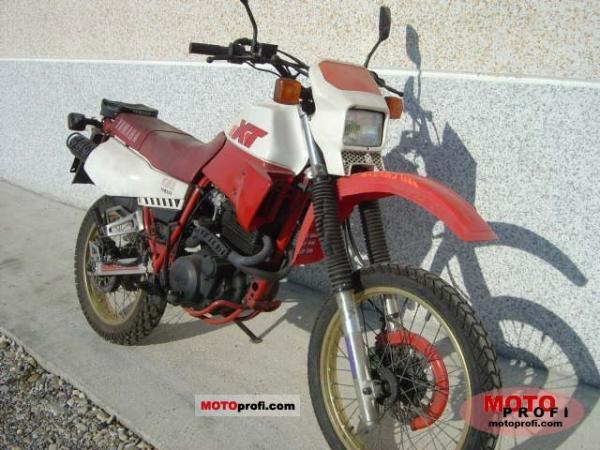 1988 Yamaha XT 600 (reduced effect)