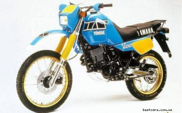 1989 Yamaha XT 600 (reduced effect)