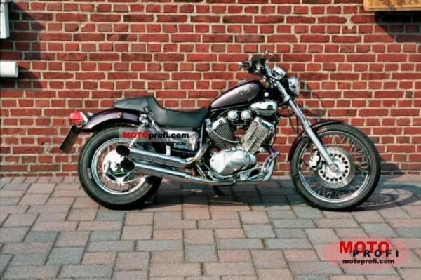 1990 Yamaha XV 535 Virago (reduced effect)