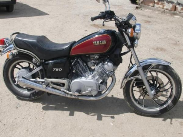 Yamaha XV 750 Special (reduced effect)