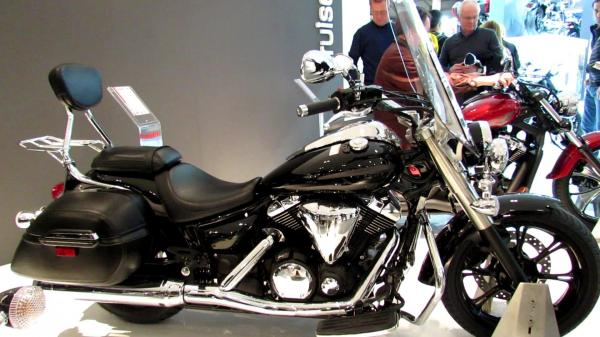 2014 Yamaha XVS 1300 A Midnight Star
