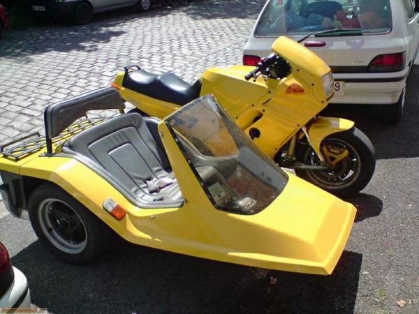 1987 Yangtze 750 (with sidecar)