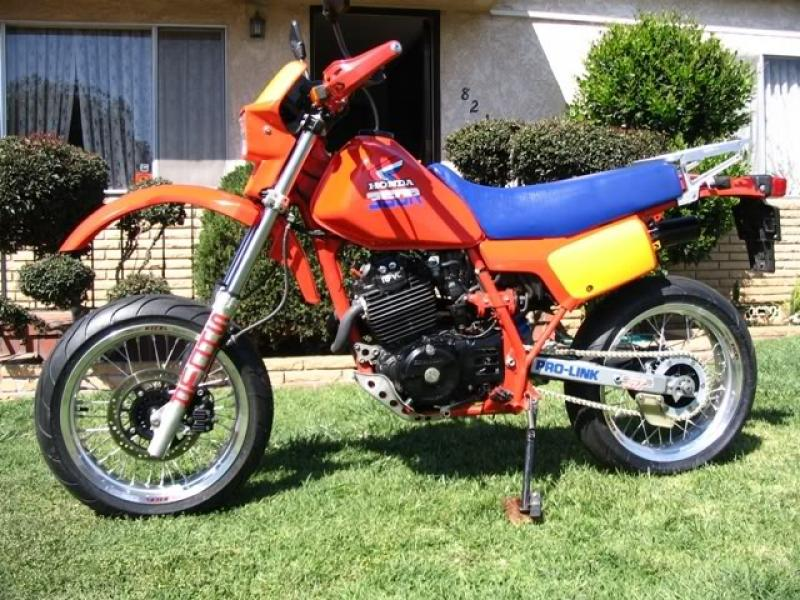 1986    Honda    XL600R  reduced effect   MotoZombDriveCOM