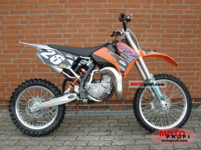 2005 ktm 85 sx 19 16 moto zombdrive com. Black Bedroom Furniture Sets. Home Design Ideas