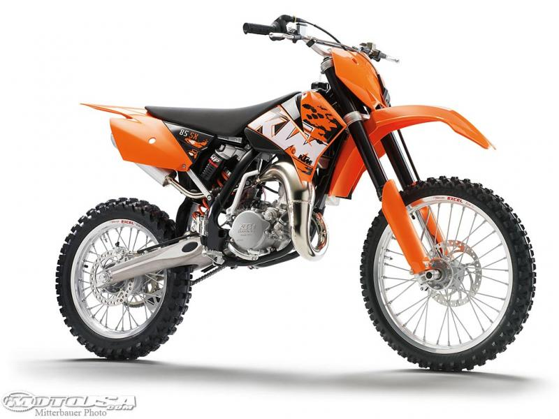 2010 ktm 85 sx 19 16 moto zombdrive com. Black Bedroom Furniture Sets. Home Design Ideas