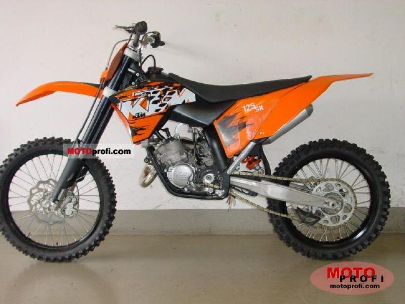 1989 ktm enduro 125 vc moto zombdrive com. Black Bedroom Furniture Sets. Home Design Ideas