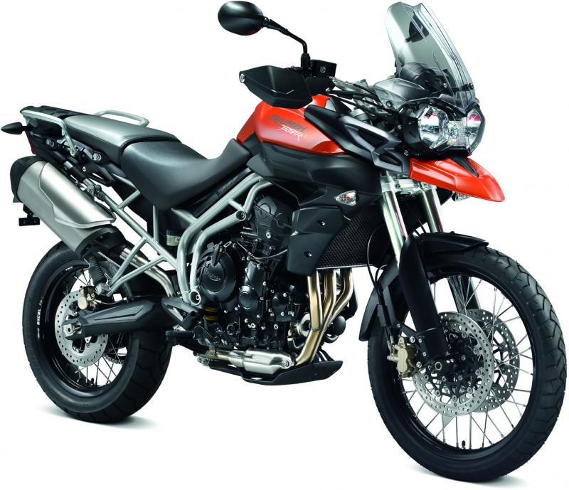 2011 Triumph New Tiger...