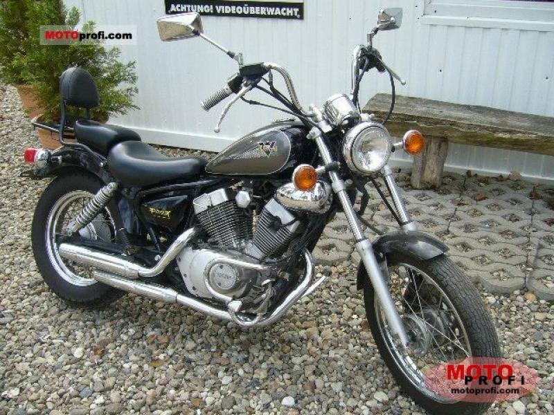 1997 yamaha xv 125 virago moto zombdrive com. Black Bedroom Furniture Sets. Home Design Ideas